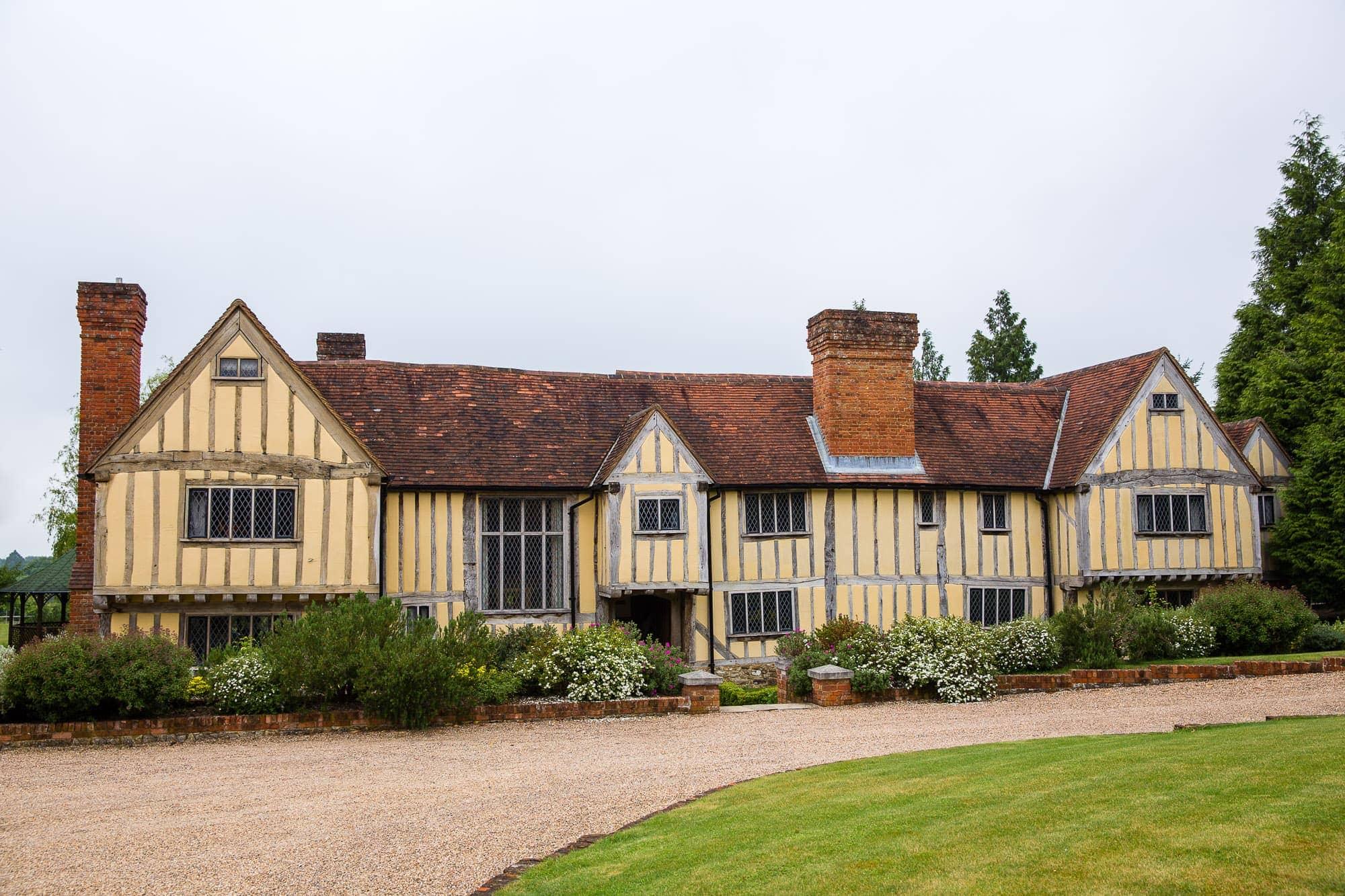 Cain Manor wedding venue on the Hampshire and Surrey border