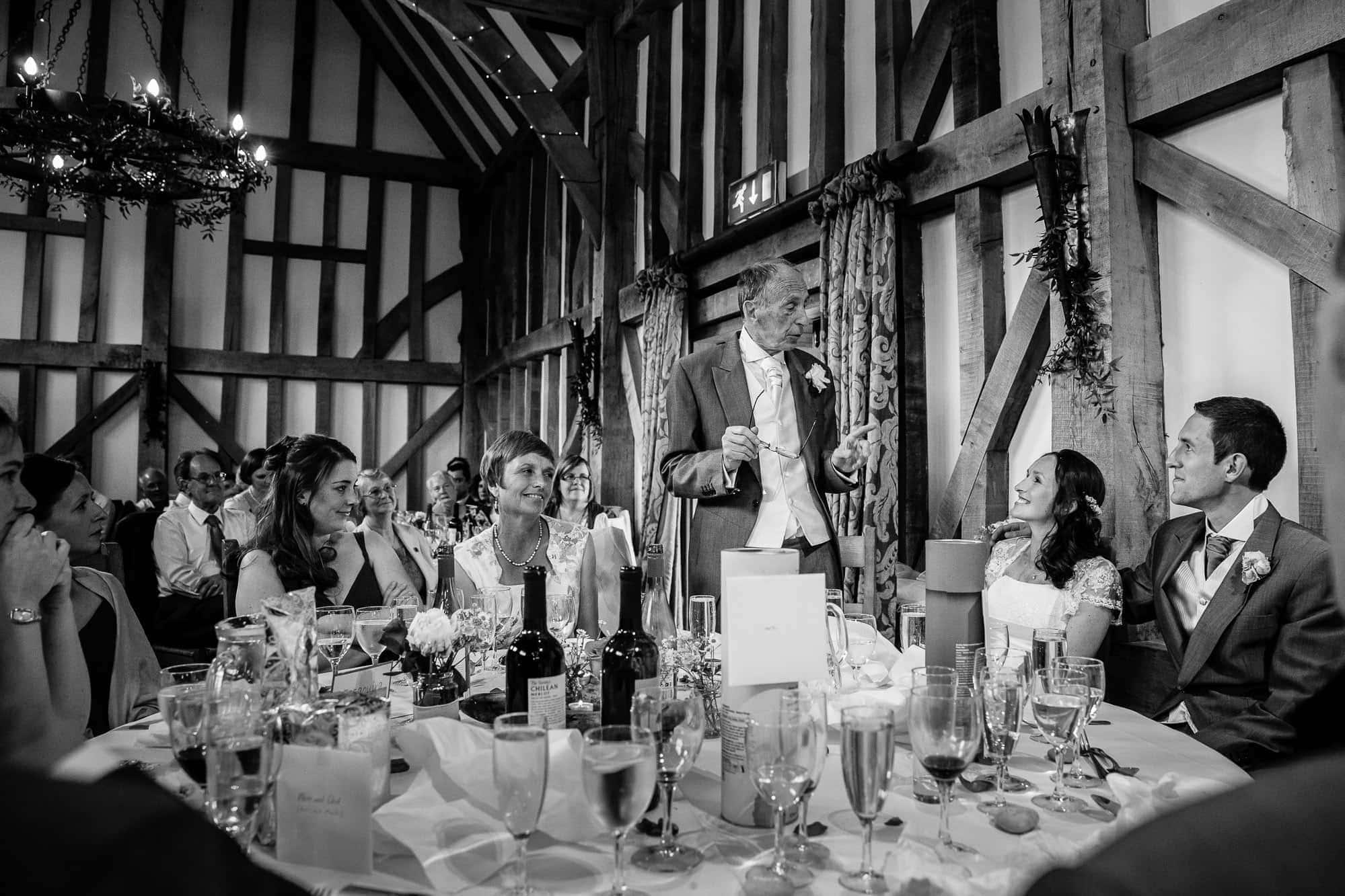Gate Street Barn Wedding Photography 084 7398