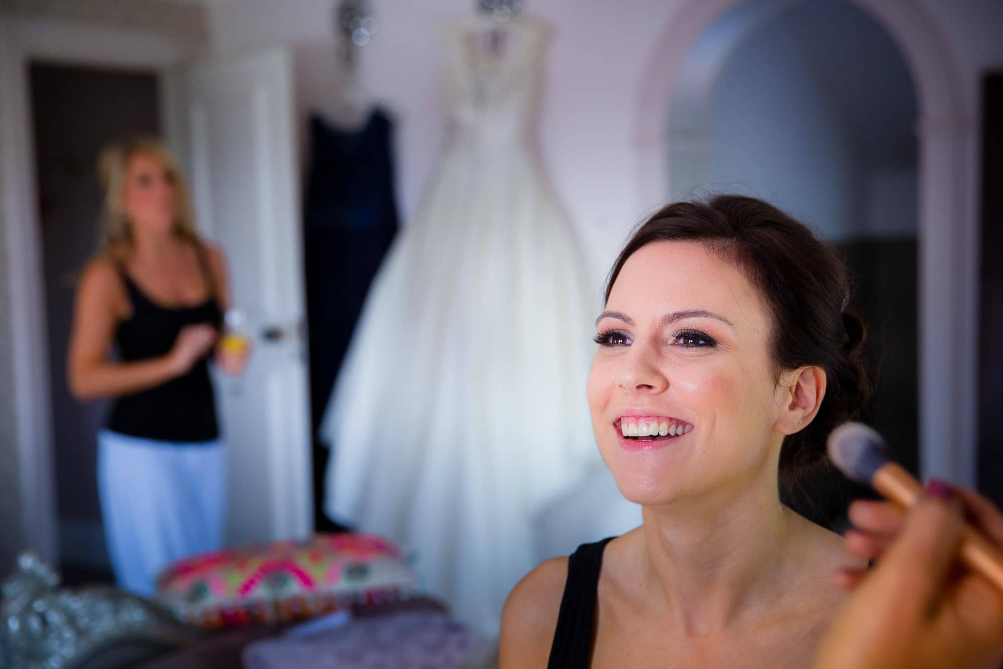 Bridal Preparation at Russets Country House Wedding Venue
