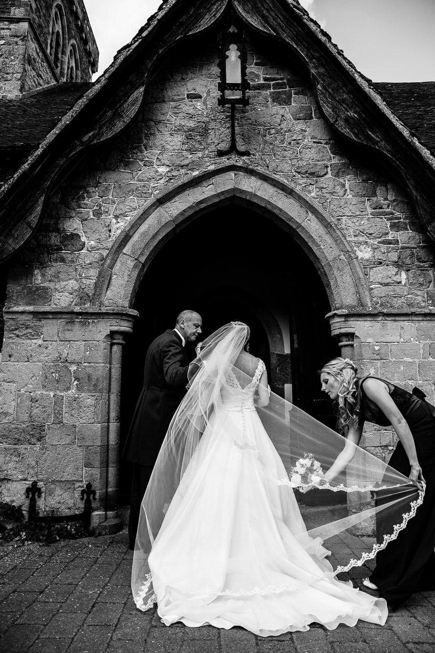 Russets Country House Wedding 030 1930