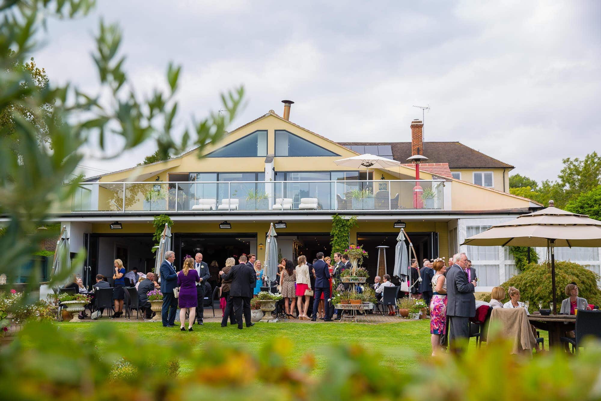 Wedding Reception at Russets Country House Gardens
