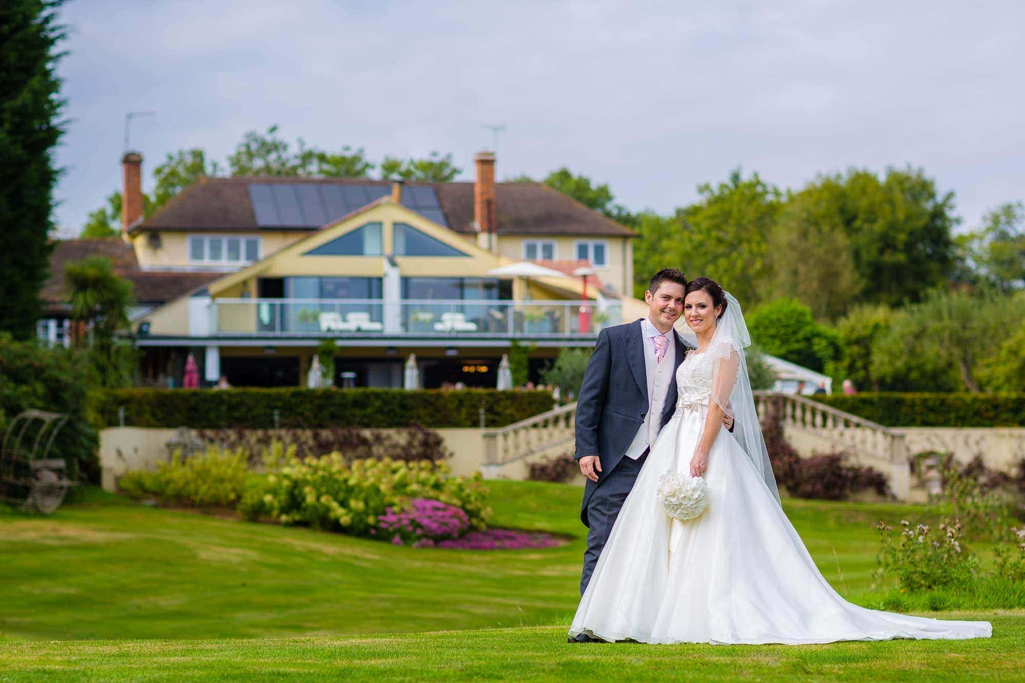 Wedding Reception at Russets Country House Wedding Portrait