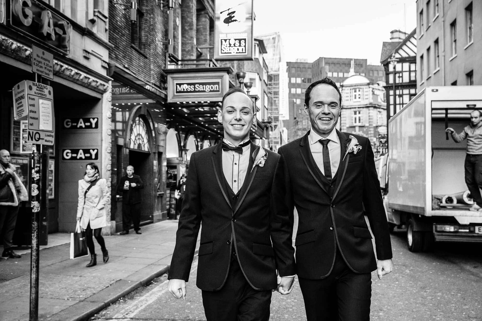 LGBT London Wedding | Tom & Darrel