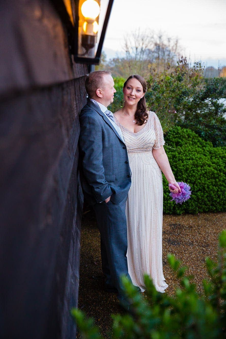 Gate Street Barn Wedding Photography - Couple Portraits