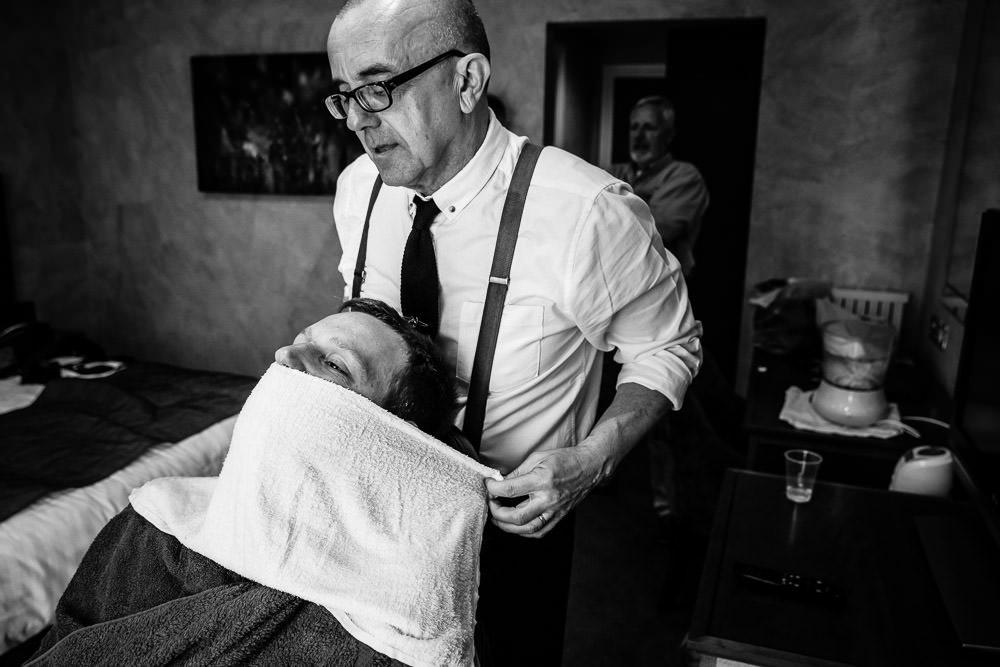 Wet Shave Prep - Hot Towel - Old Thorns Wedding