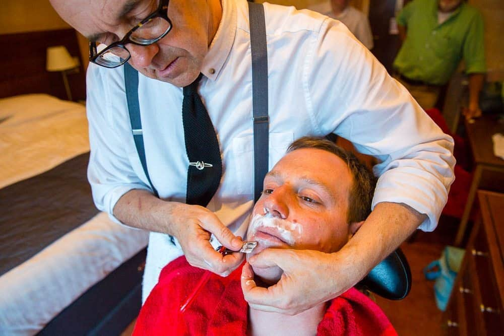 Wet Shave - Groom Prep