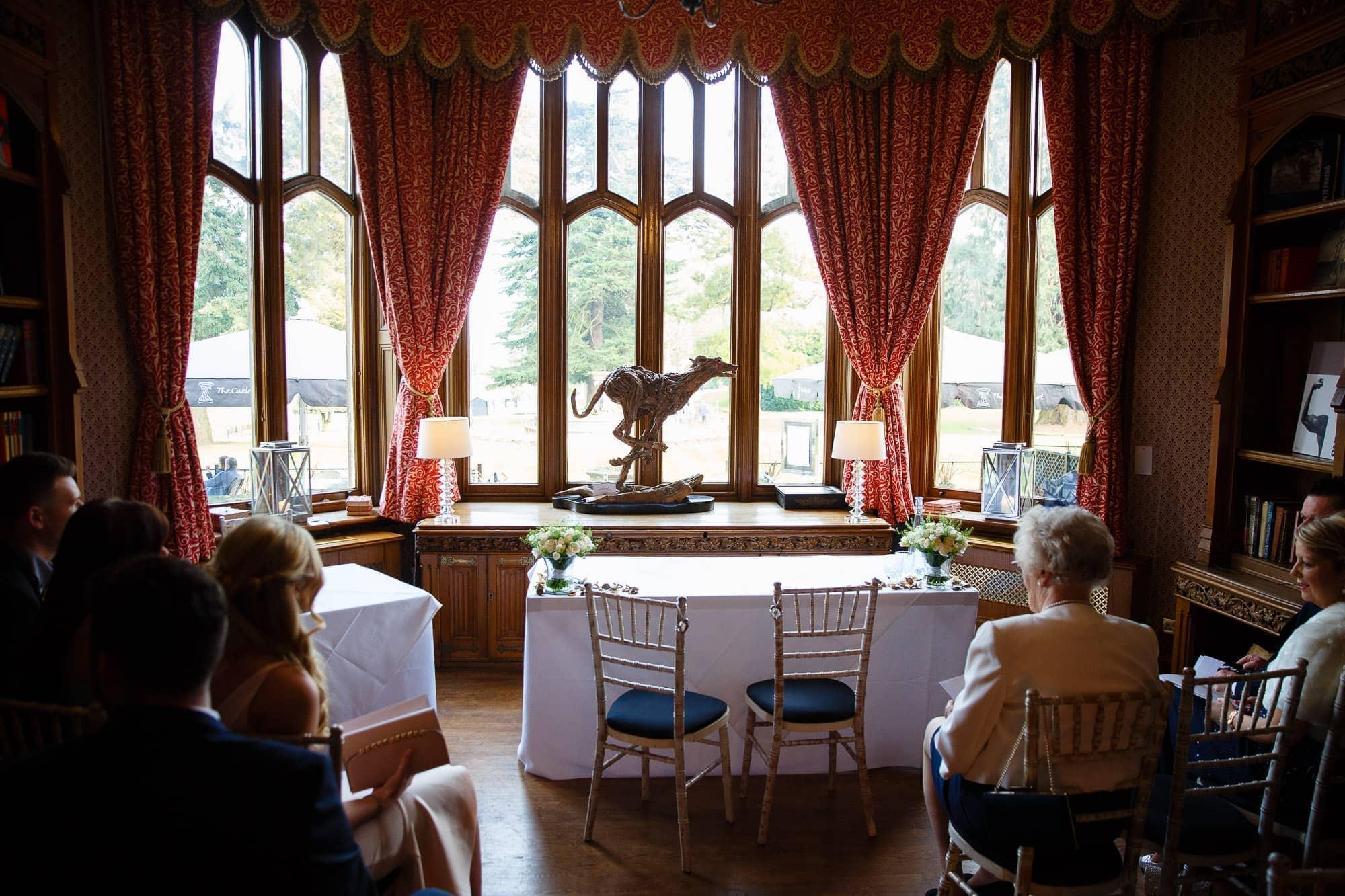 Wedding Ceremony Room Oakley Court