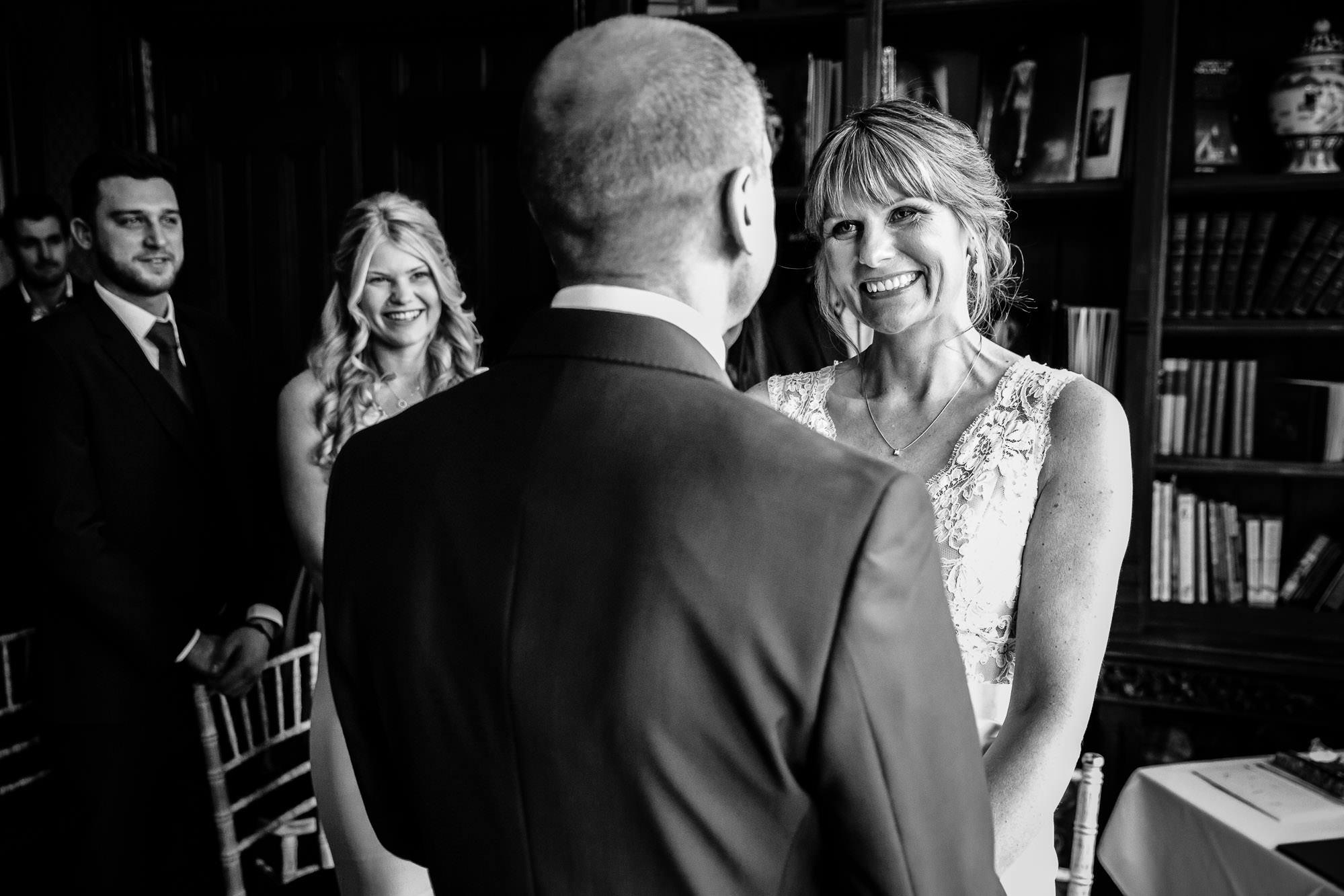 Small Intimate Wedding Wedding Ceremony Oakley Court Berkshire
