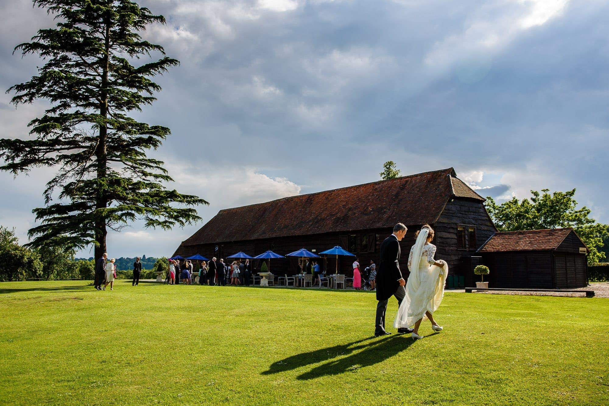 Loseley Park Wedding | Maryam & Michael