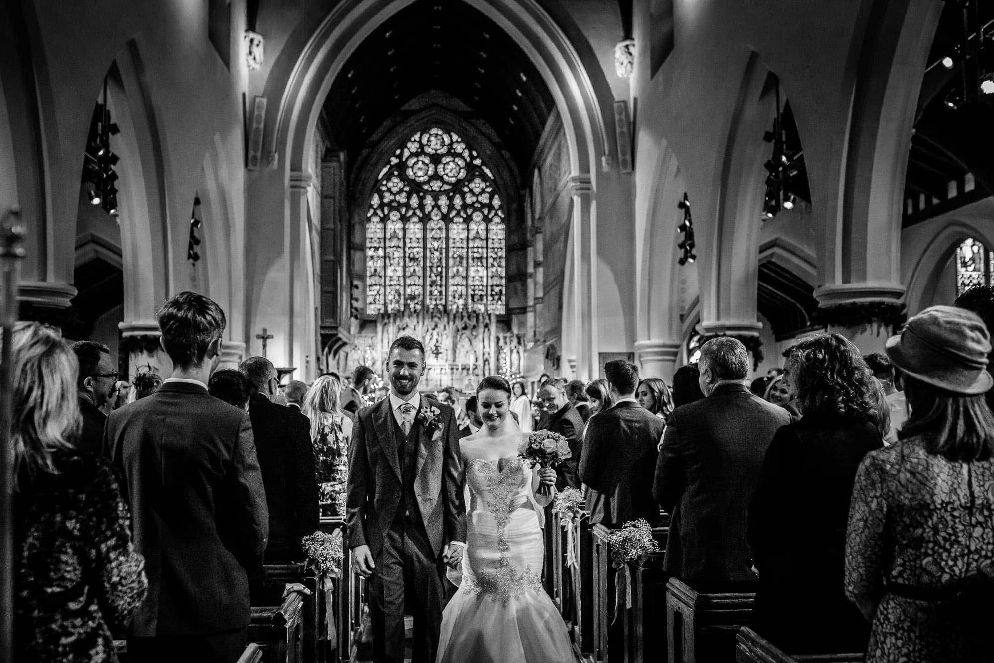 Wedding Photography St James Parish Church, Weybridge