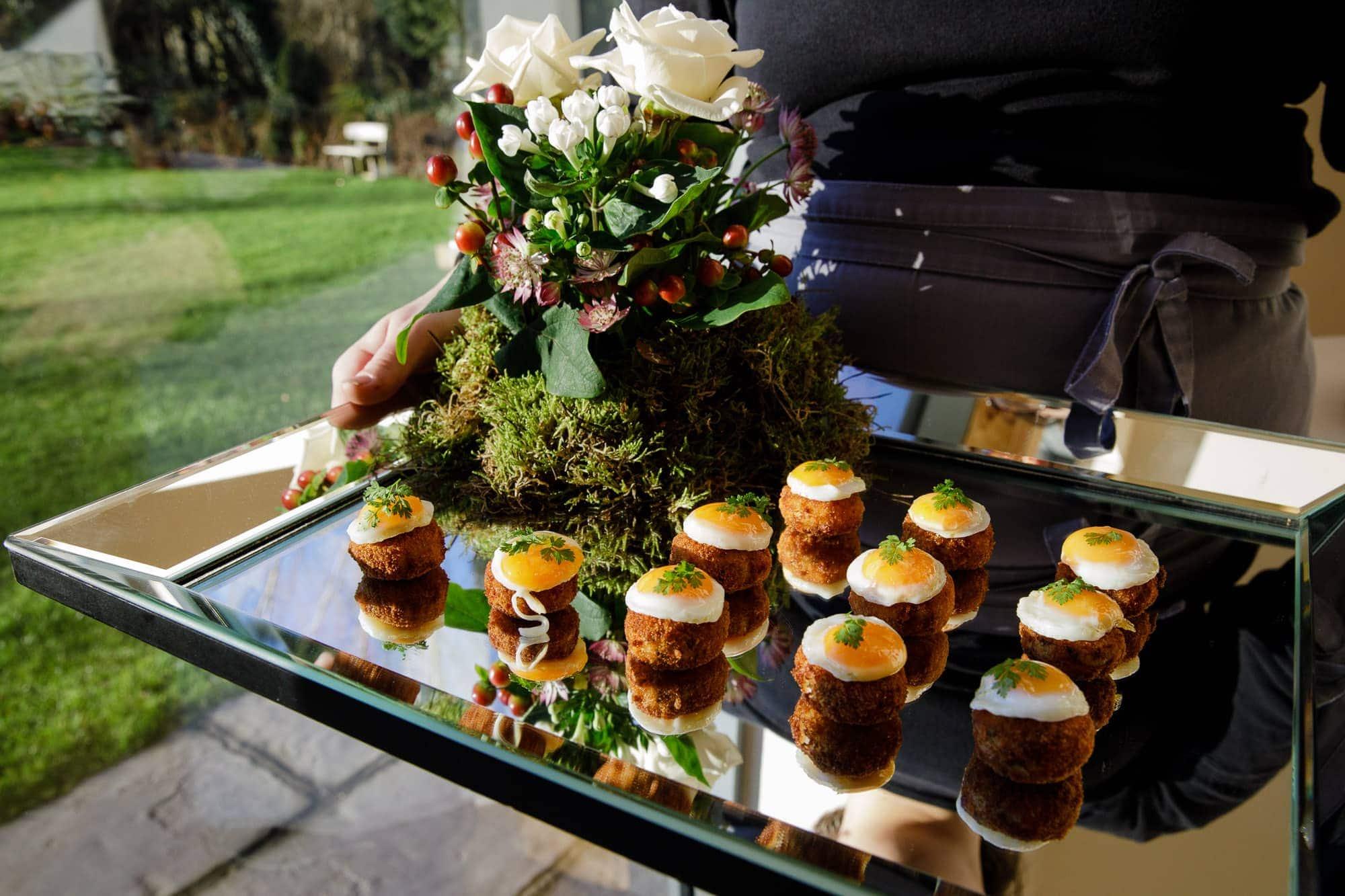 Wedding Catering by Kalm Kitchen at Millbridge Court Farnham Surrey