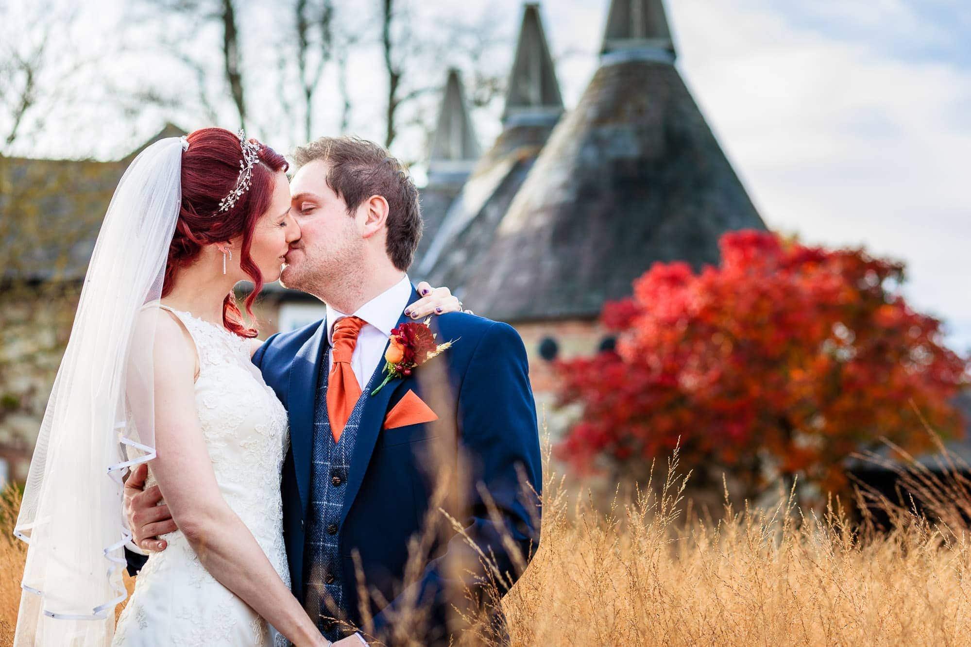 Autumn Wedding Bury Court Barn | Vicky & Phil