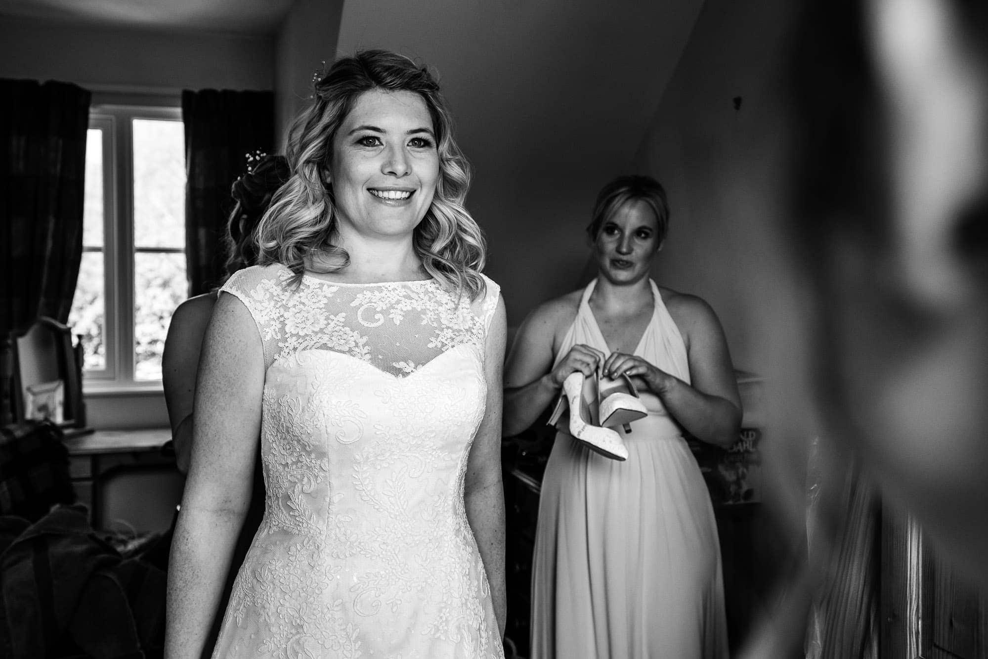 Gate Street Barn Wedding Photography - Bridal Prep