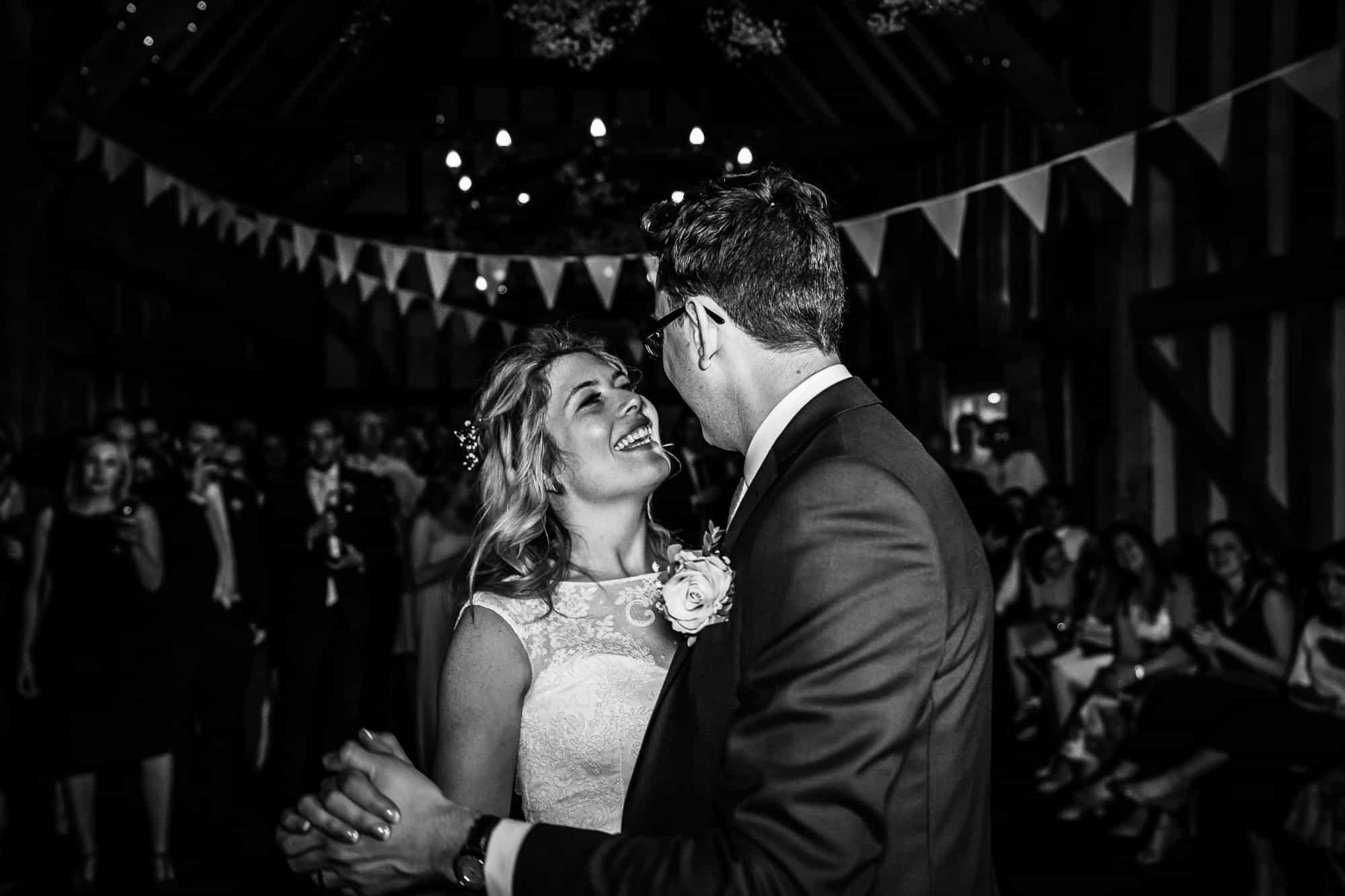 Gate Street Barn Wedding Photography - First Dance