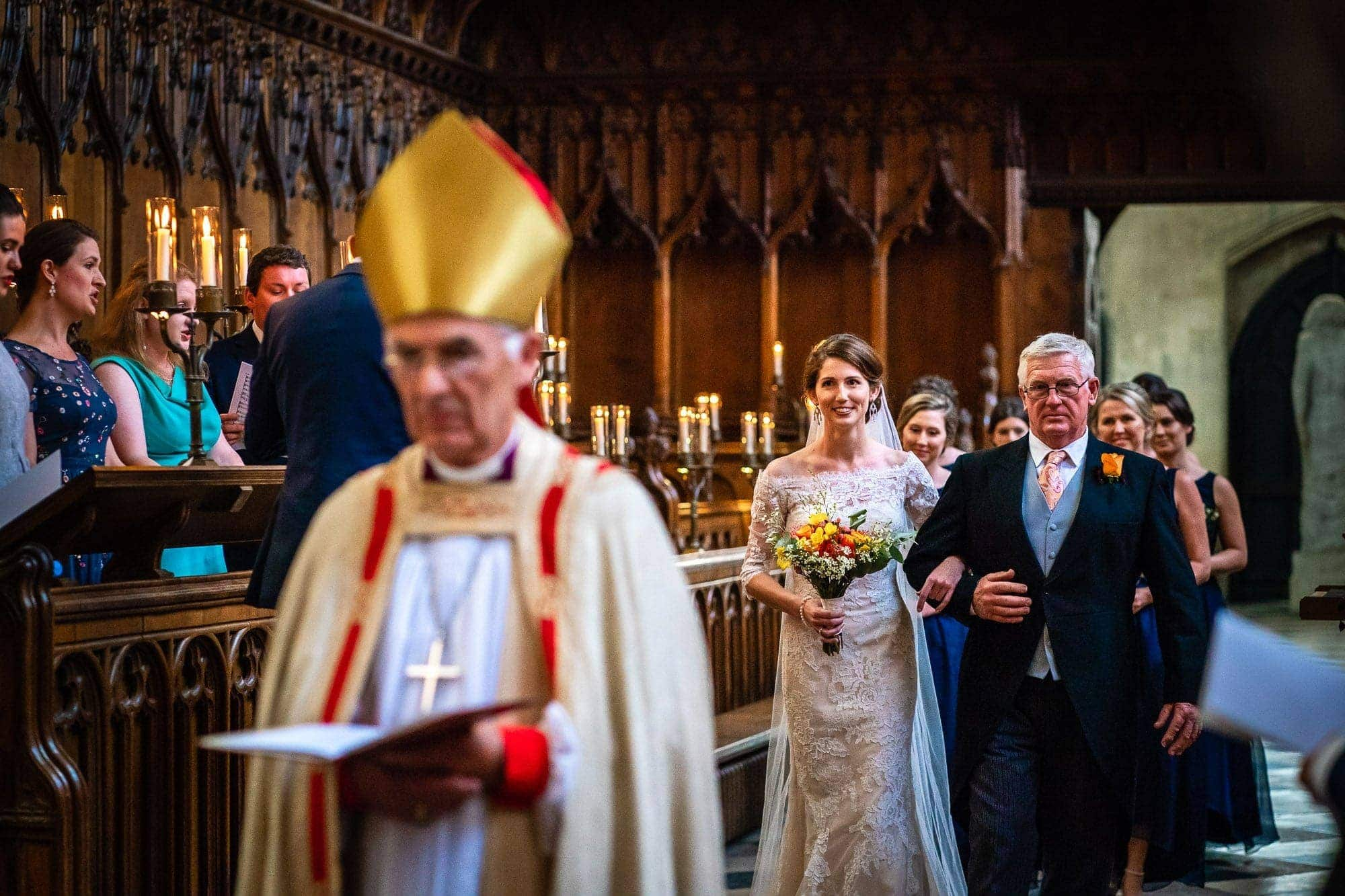 New College Chapel Oxford Wedding Photography