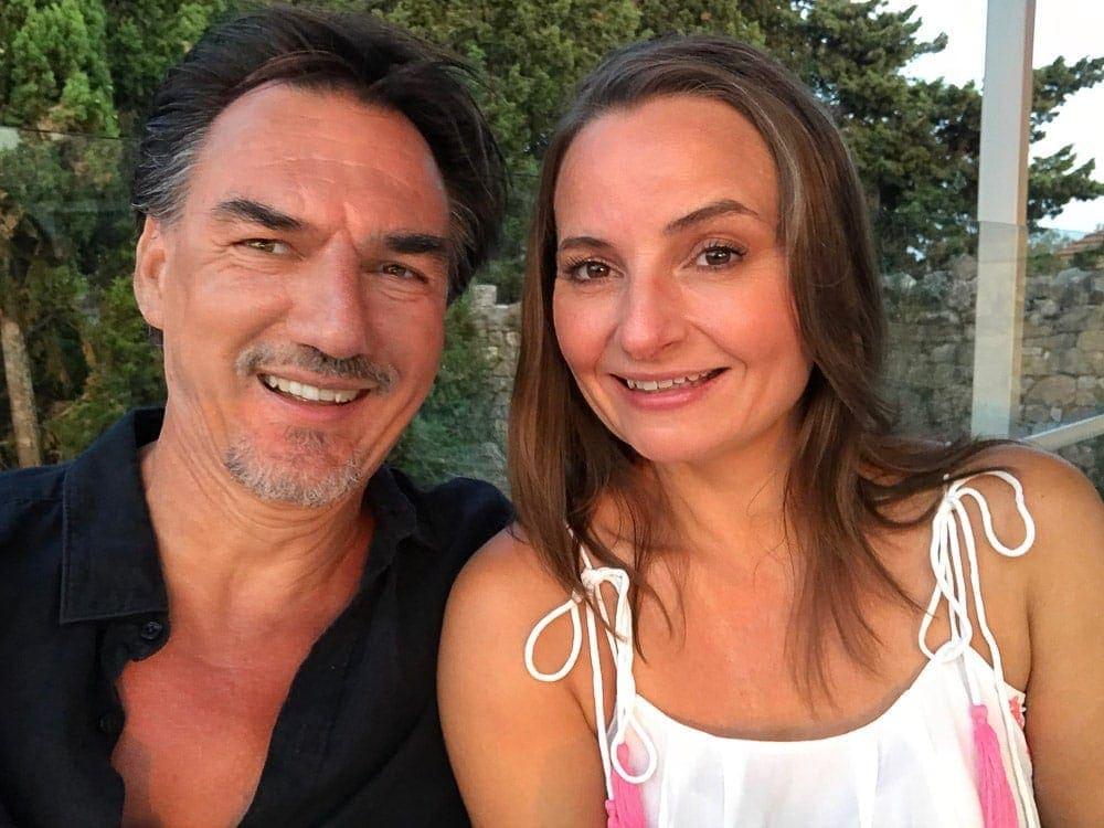 Carol & Paul Tansley in Paxos