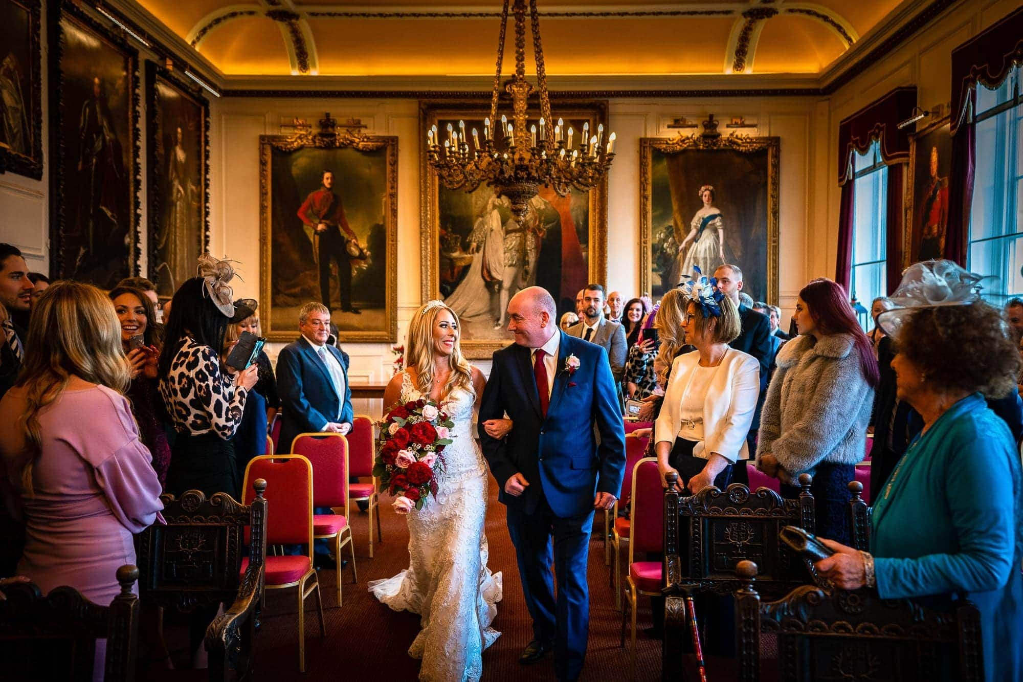 Great Fosters & Windsor Guildhall Wedding