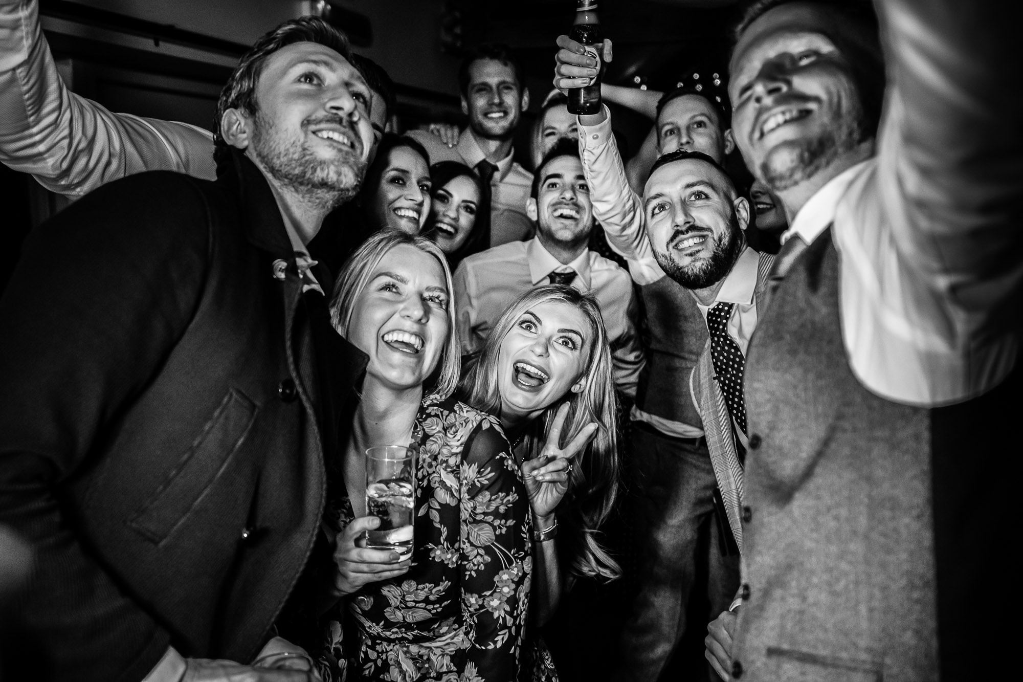 Farbridge Wedding - group selfie