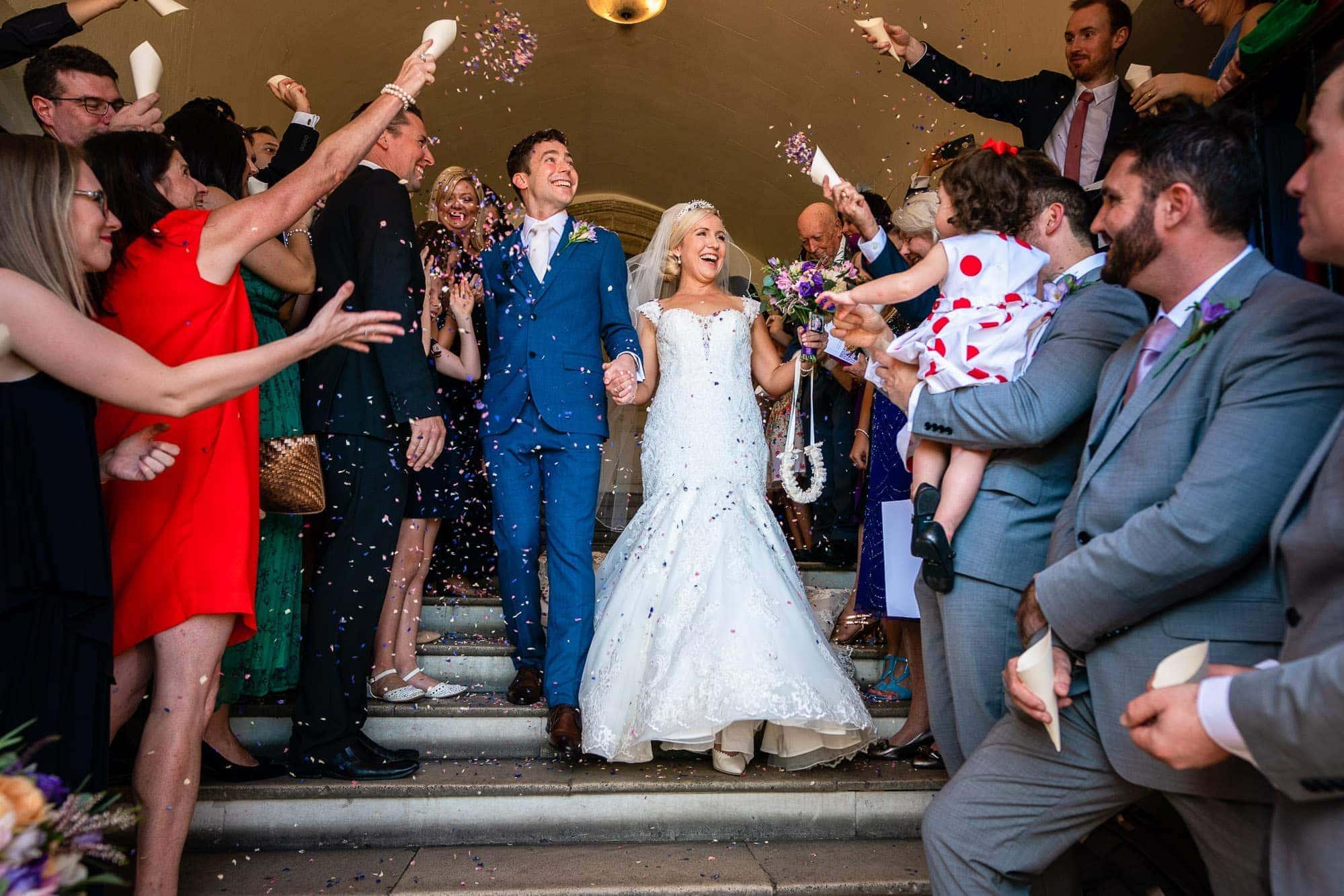 Shanan & Joe   Farnham Castle Wedding
