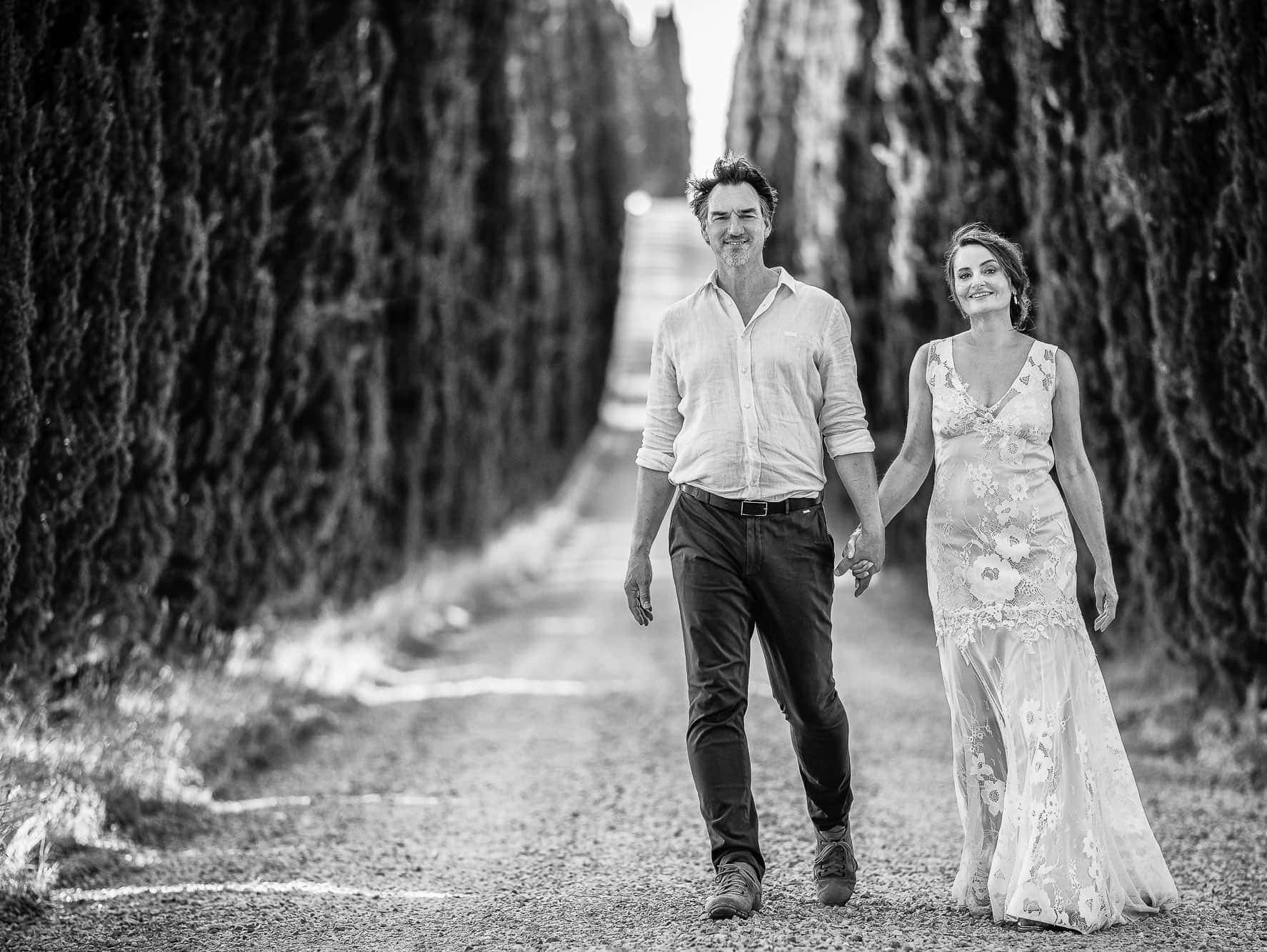 Tansley Photography 2019 - Carol & Paul Tansley in Tuscany on their wedding day