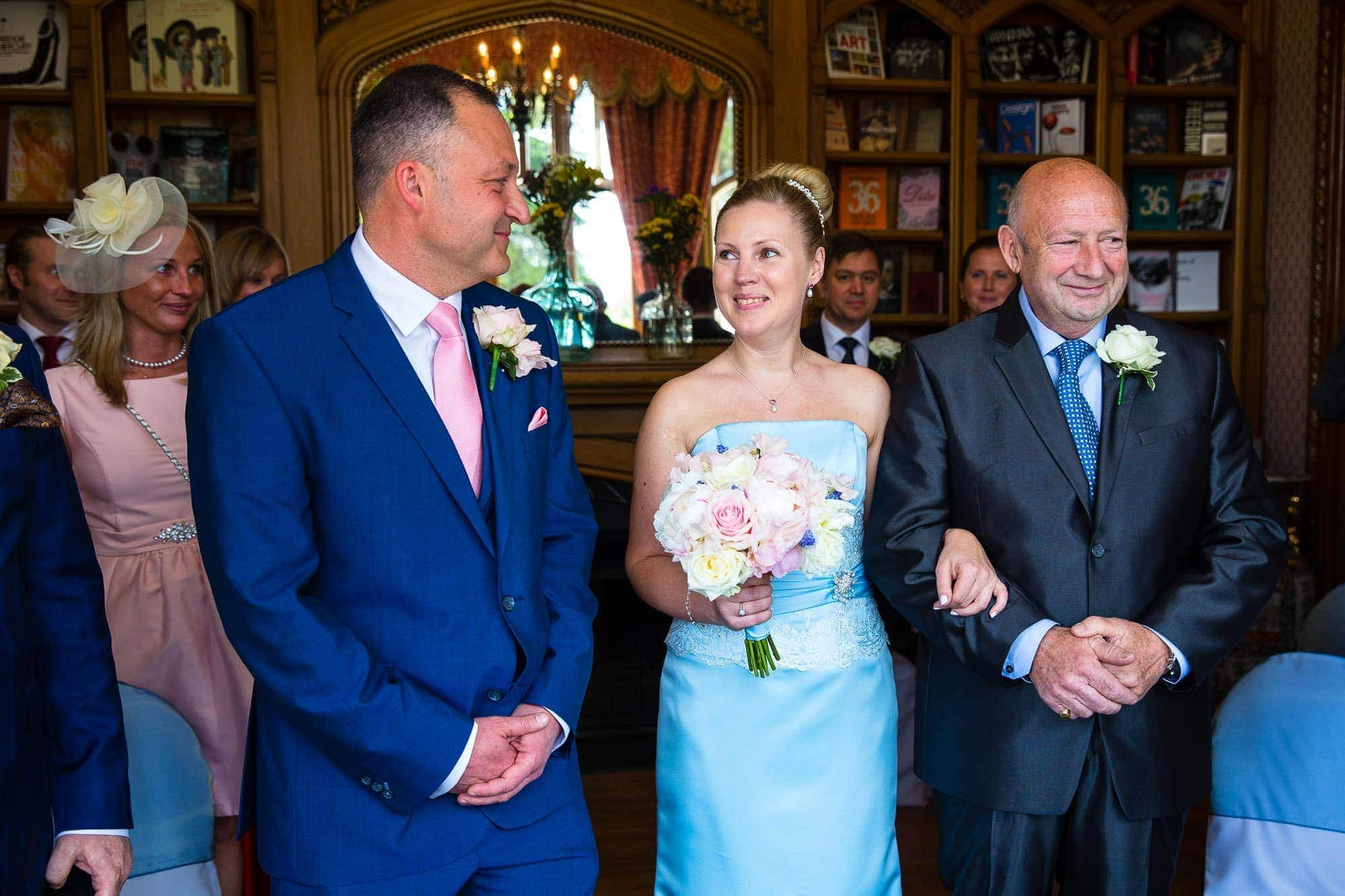 Wedding Ceremony Oakley Court Hotel