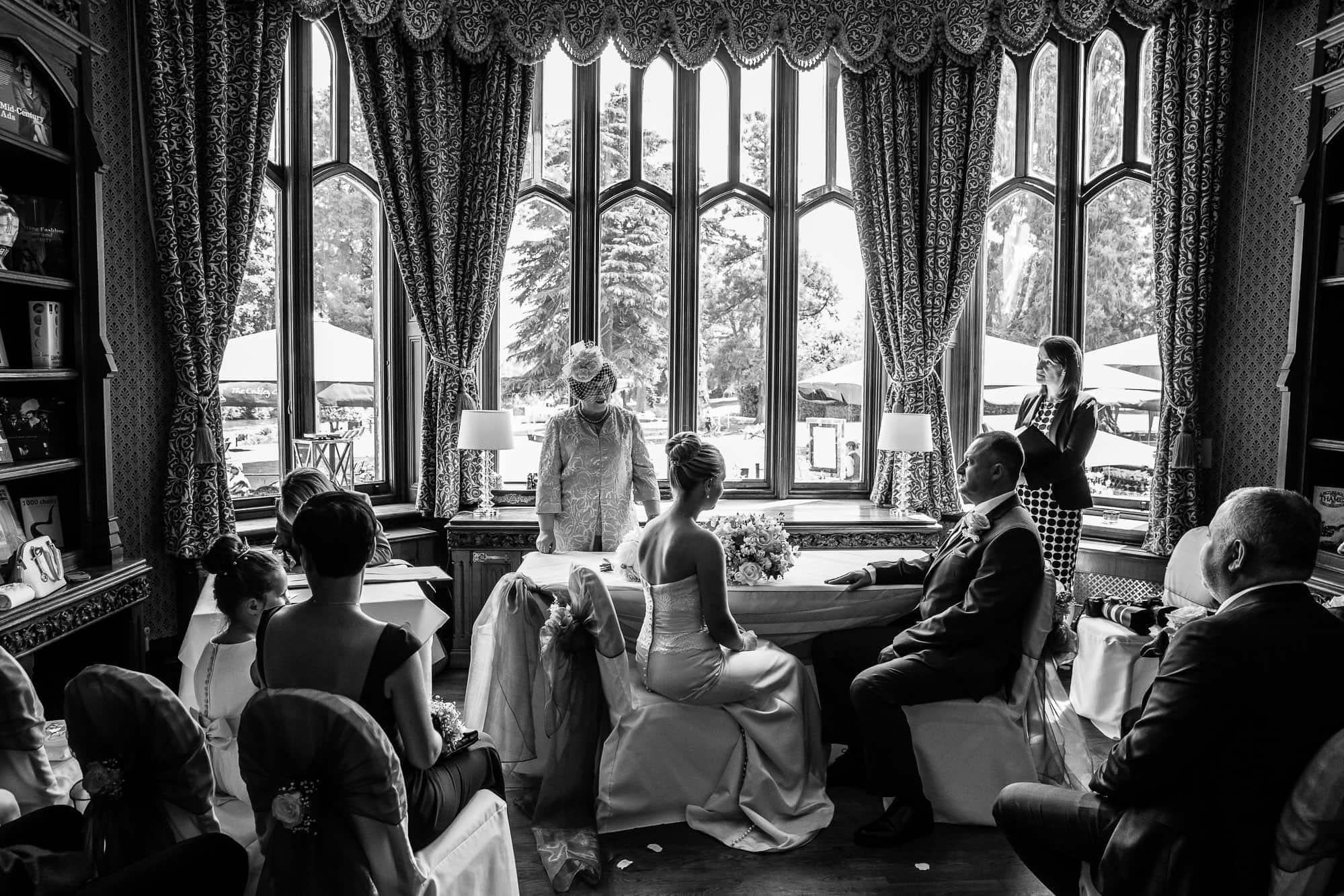Small Wedding Oakley Court Hotel