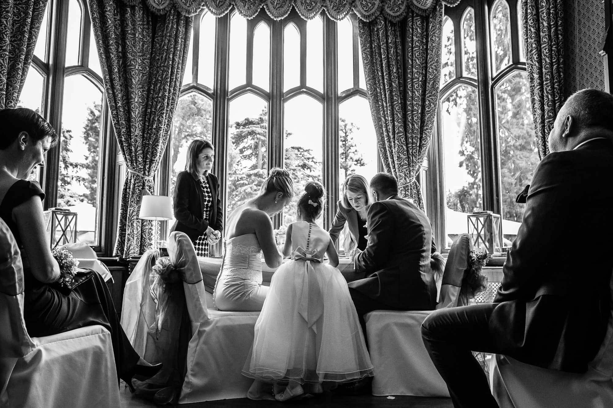 Oakley Court Wedding Photographer 53
