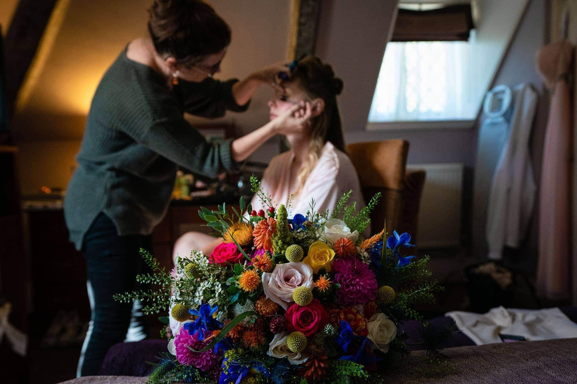 Norton Park Wedding - Bridal Preps
