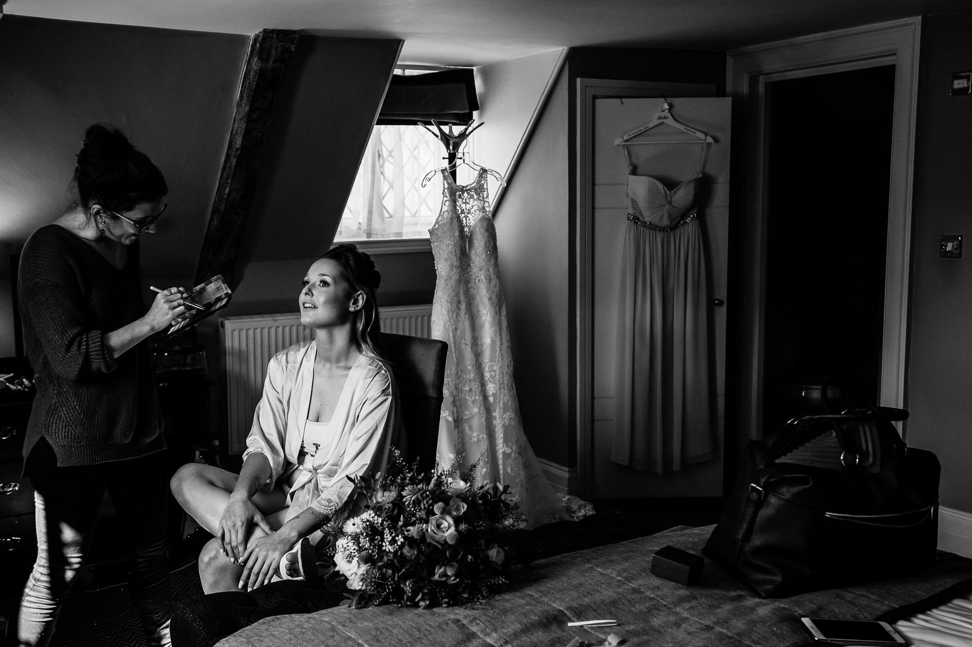 Norton Park Wedding Photographer - Bridal Preps