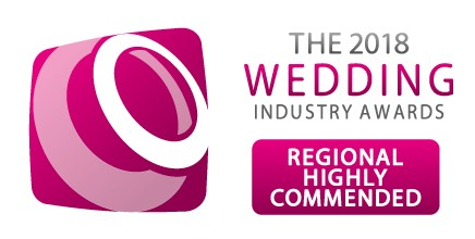 TWIA 2018 Highly Commended in the 2018 Wedding Industry Awards