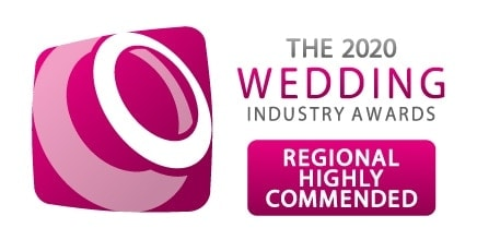 TWIA 2020 Highly Commended in the 2020 Wedding Industry Awards