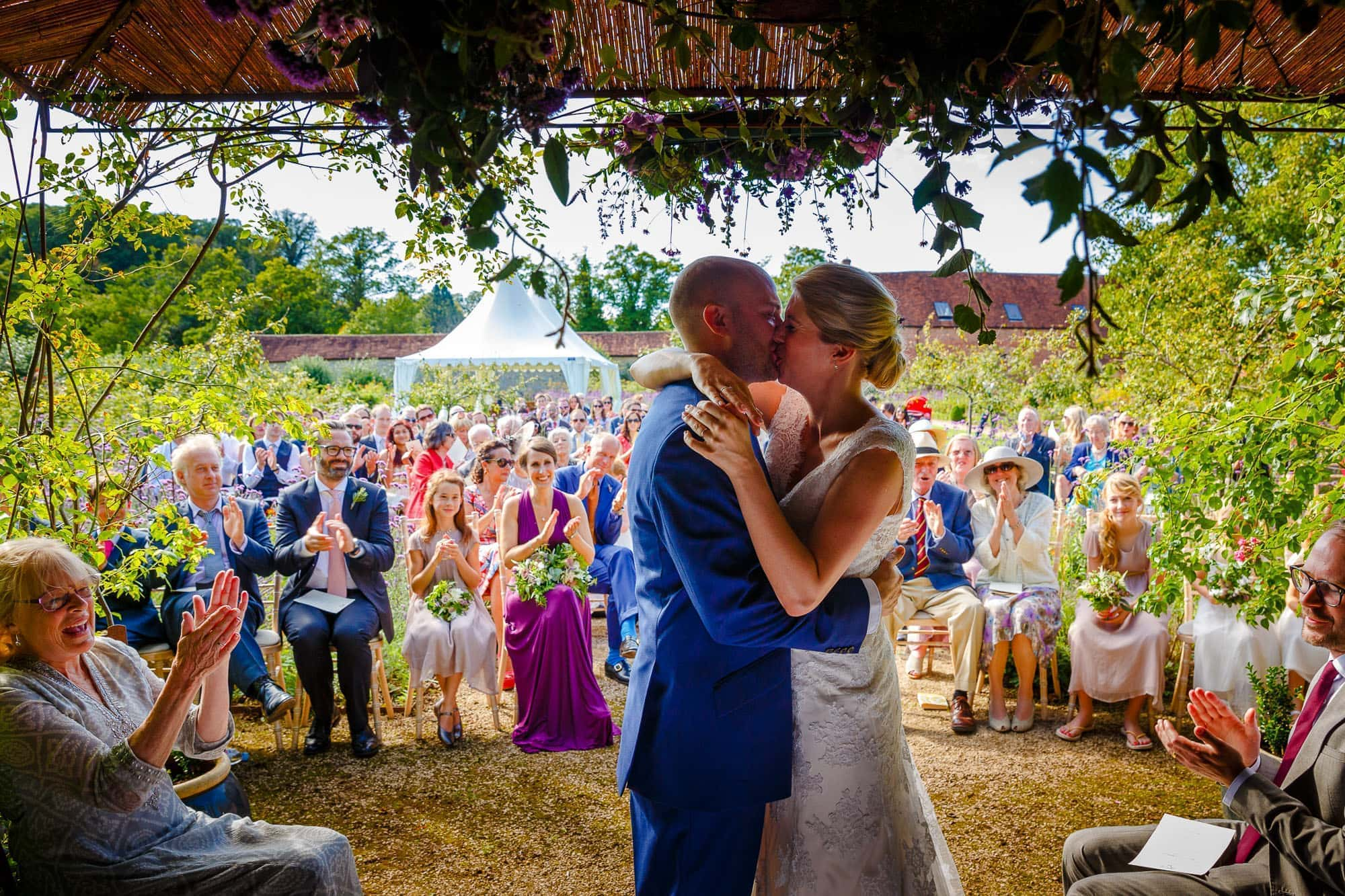 Outdoor Wedding |Walled Garden Cowdray