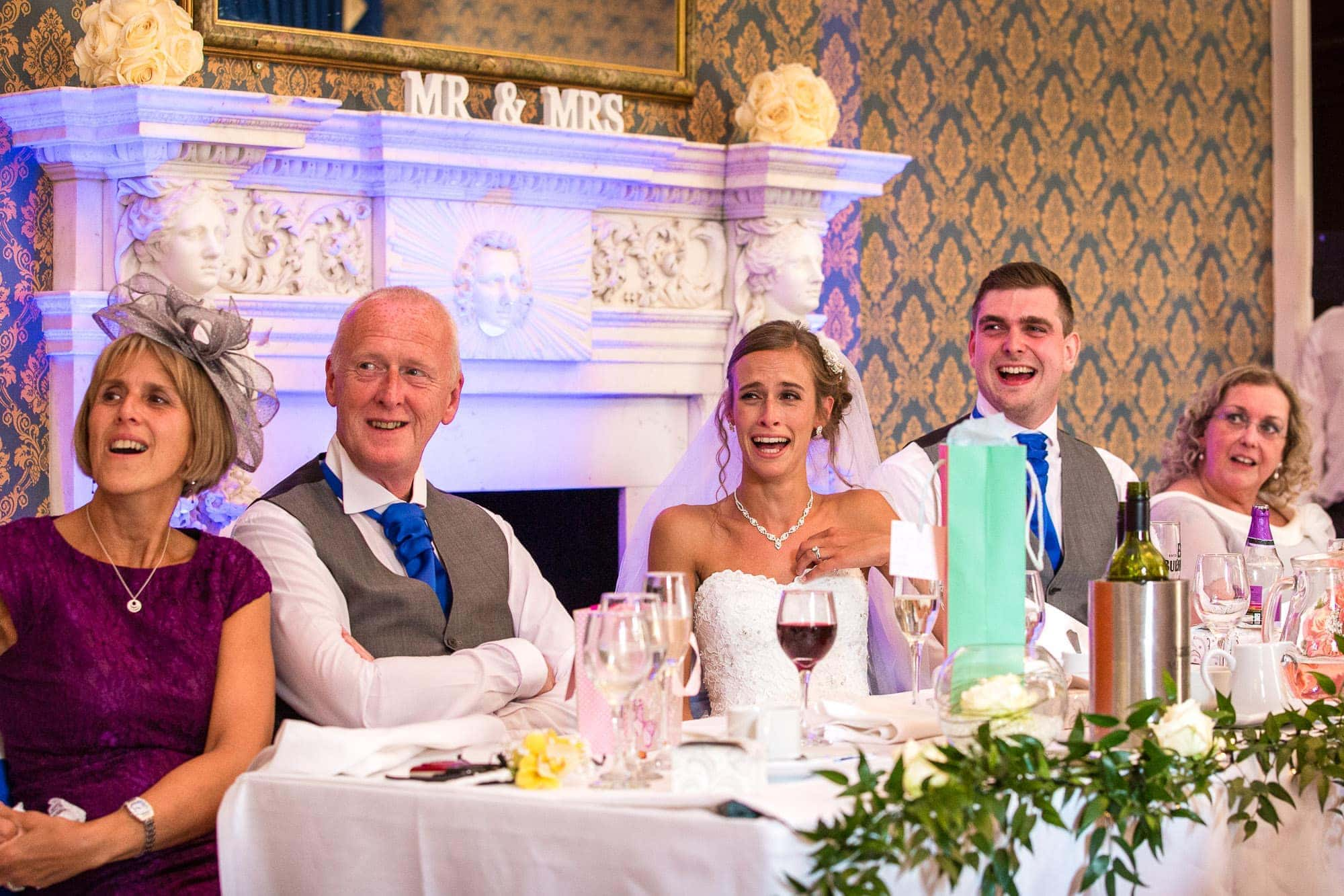 Wedding Speeches at Easthampstead Park Hotel