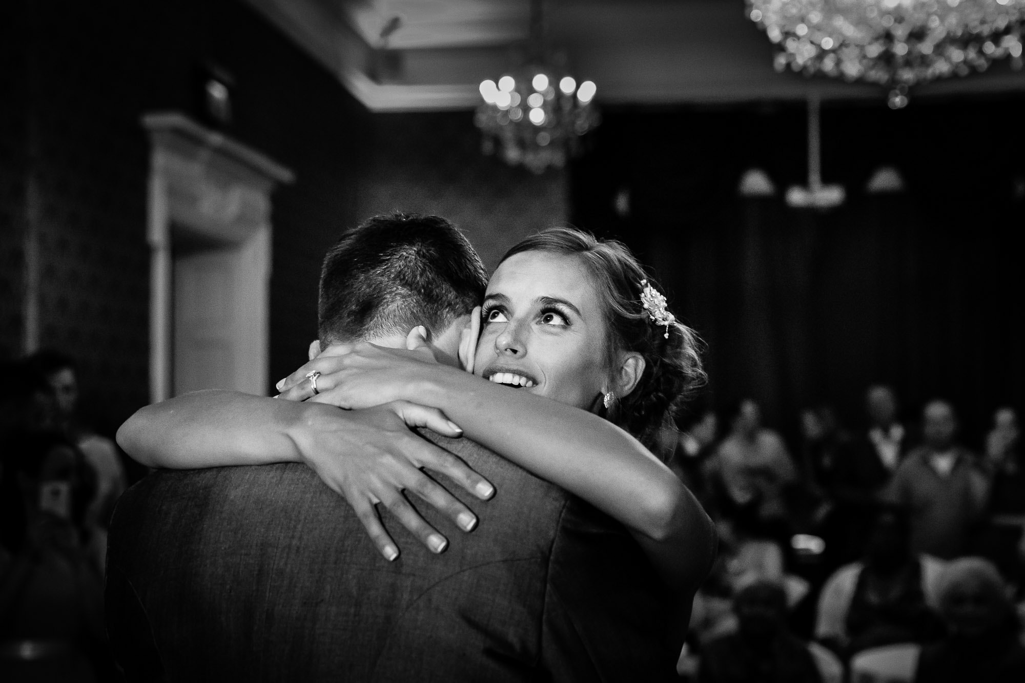 First Dance at Easthampstead Park Hotel wedding