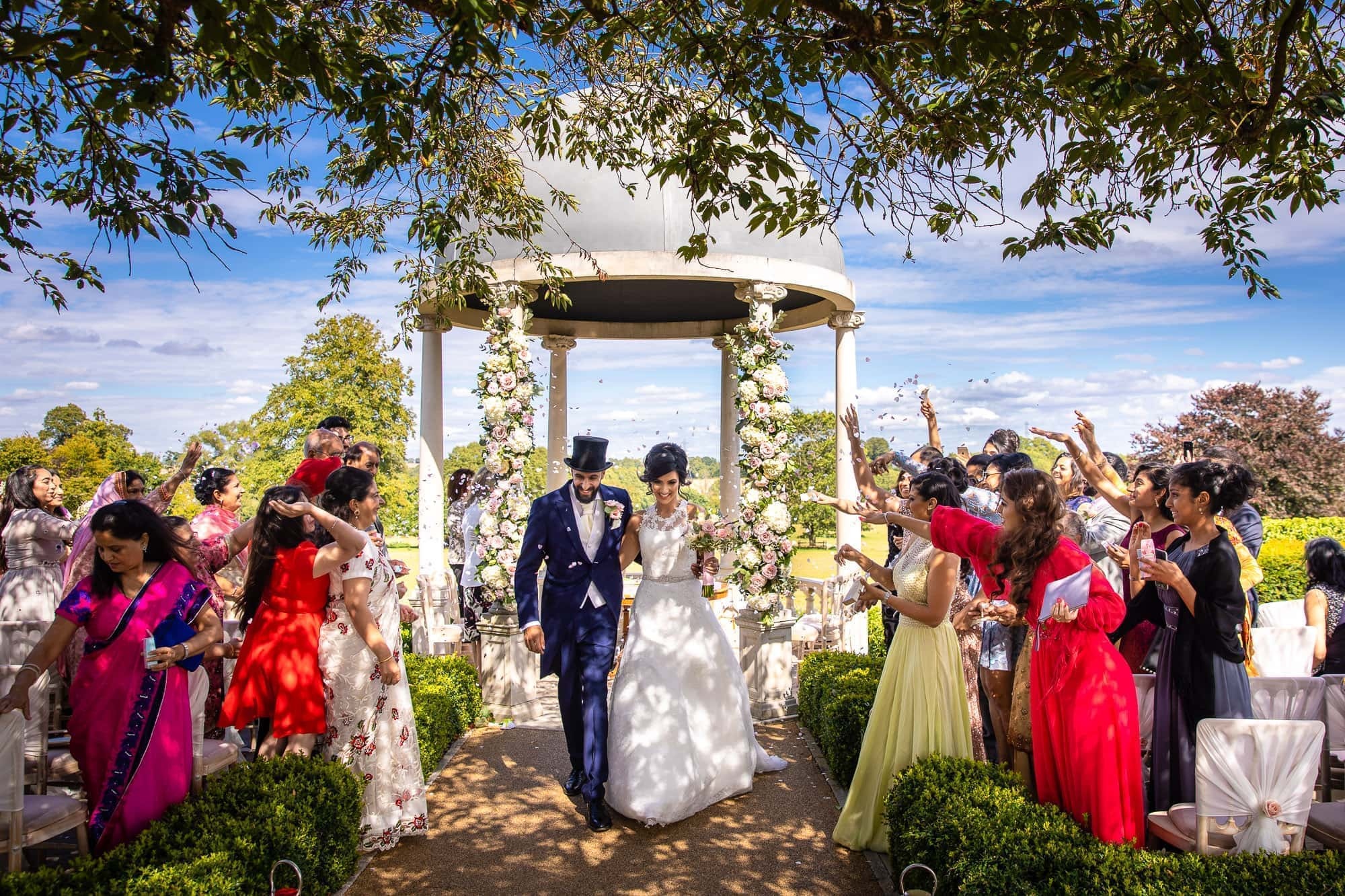 Outdoor Wedding at Froyle Park