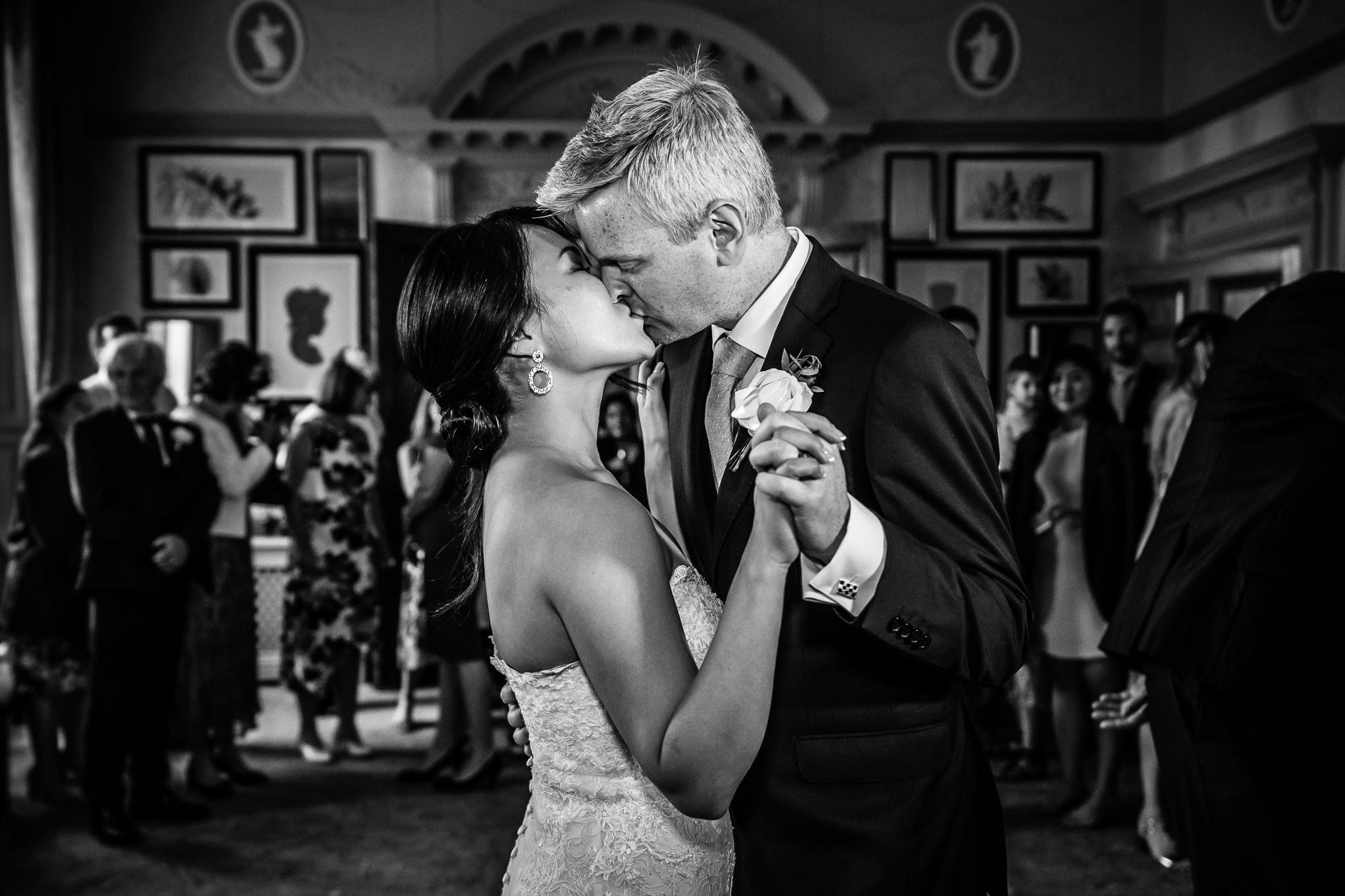 First Dance De Vere Wokefiled Estate wedding photography