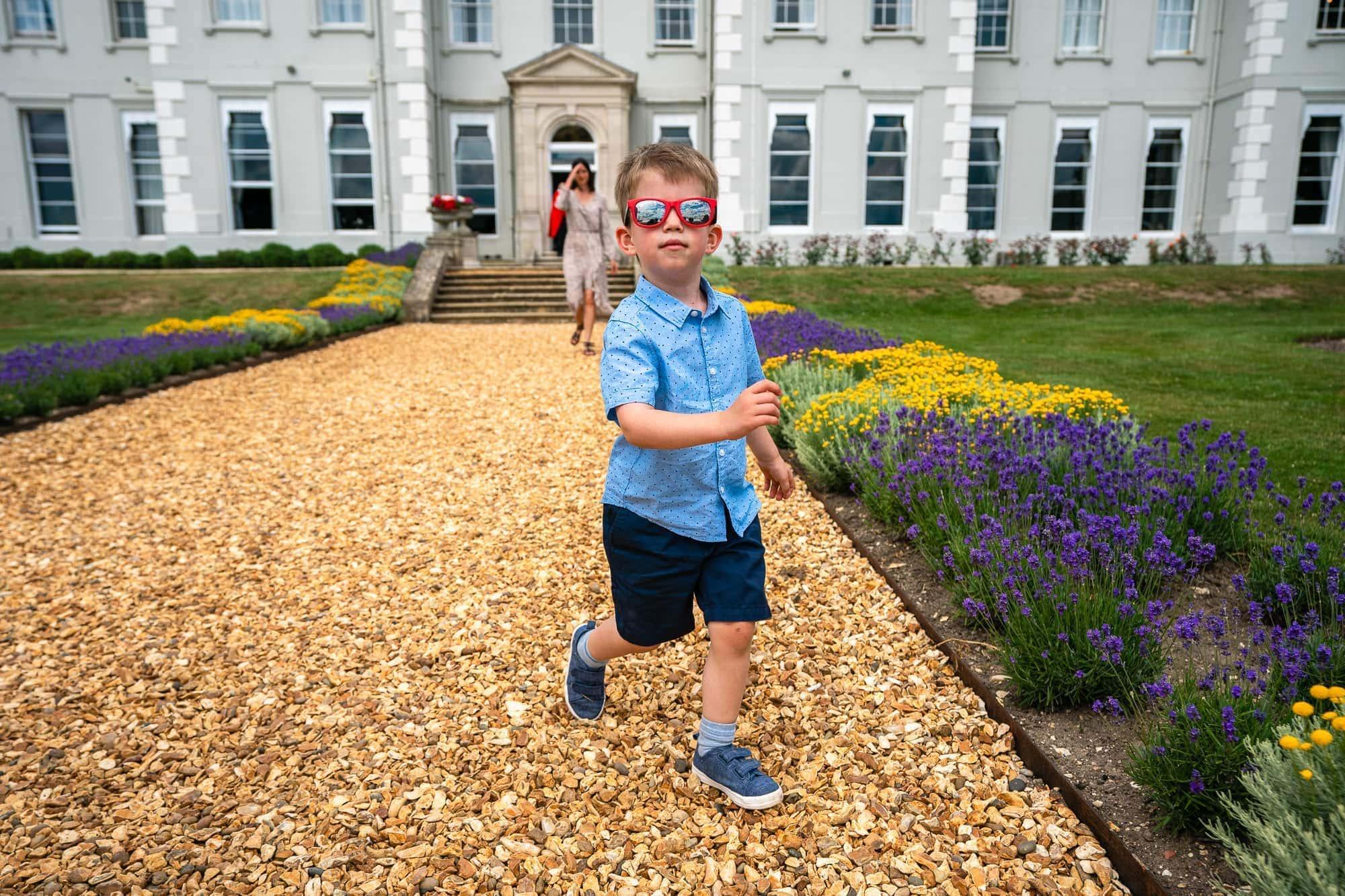 Kid in Sunglasses - De Vere Wokefield Estate
