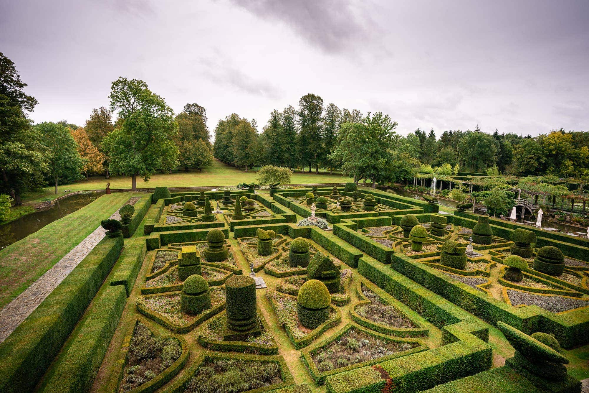 The Topiary Gardens at Great Fosters Hotel