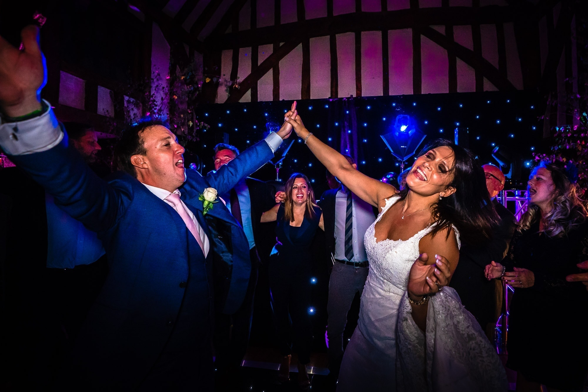 Great Fosters Wedding | Simon & Tracy